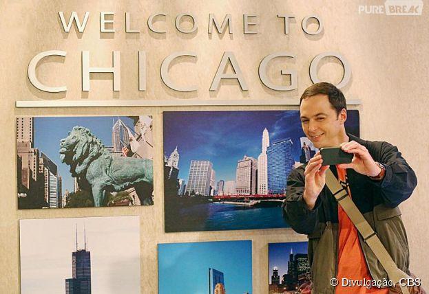"""Em """"The Big Bang Theory"""", Sheldon (Jim Parsons) viajou bastante depois de ir embora de casa"""