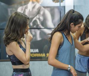 """Em """"Malhação"""", Pérola teve apoio das novas amigas pra fazer loucuras pra emagrecer"""