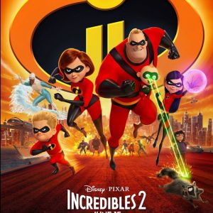 """Filme """"Os Incríveis 2"""" se torna a animação com a maior bilheteria de estreia na história!"""
