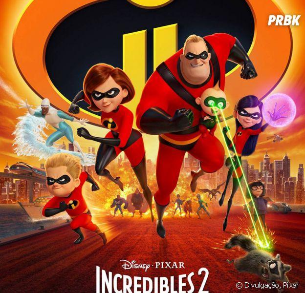 """""""Os Incríveis 2"""" supera expectativas e se torna a animação com maior bilheteria de estreia na história"""