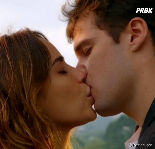 """Será que Malu (Fernanda Vasconcellos) vai ficar com Maurício (Jayme Matarazzo) no final de """"Sangue Bom""""?"""