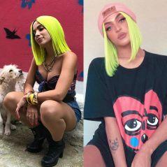 Anitta ou Pabllo Vittar: quem ficou melhor com a peruca neon?