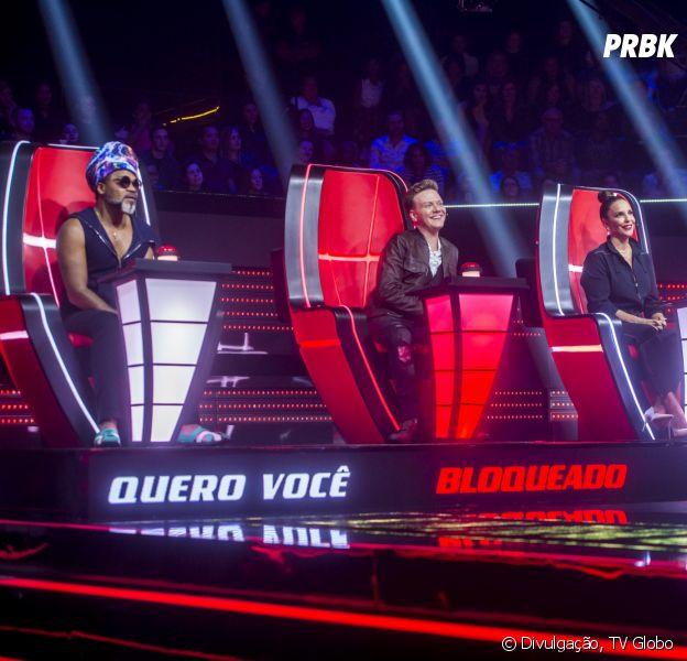 """The Voice Brasil"" tem novo recurso de bloqueio entre os jurados"