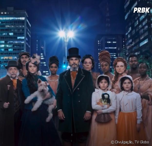 """Veja quem é quem em """"O Tempo Não Para"""", nova novela da Globo que estreia nesta terça, 31 de julho"""