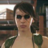 "Quiet, personagem feminina de ""Metal Gear Solid: Phantom Pain"", surge em vídeo"