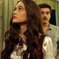 """Em """"O Tempo Não Para"""", Marocas e Samuca se beijam pela primeira vez"""