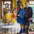 """Em """"O Tempo Não Para"""", a Família Sabino passou 132 anos congelada"""