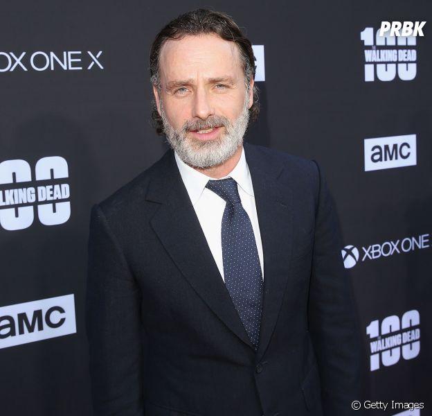 "Andrew Lincoln, de ""The Walking Dead"", ganha festa de despedida dos colegas de elenco"