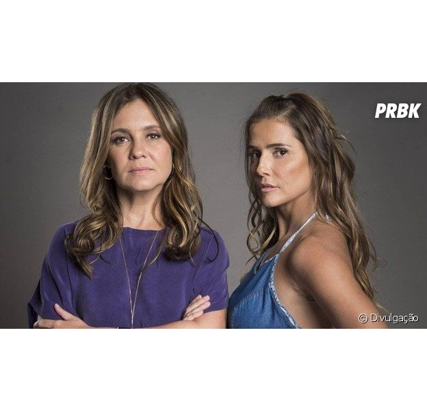 "Em ""Segundo Sol"", Laureta (Adriana Esteves) e Karola (Deborah Secco) são as assassinas de Remy (Vladimir Brichta)!"
