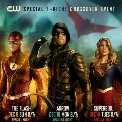 "Crossover entre ""Arrow"", ""The Flash"" e ""Supergirl"" ganha data e novo pôster"