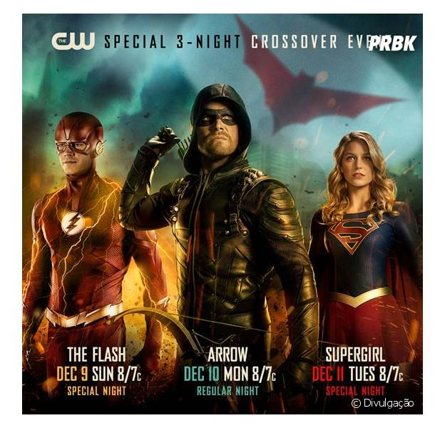 "Crossover entre ""Arrow"", ""The Flash"" e ""Supergirl"" ganha data"
