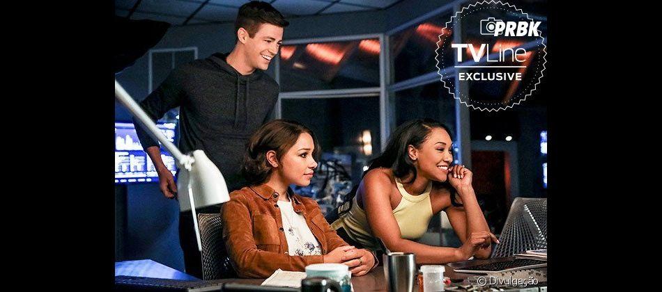 """Em """"The Flash"""", Nora (Jessica Parker Kennedy) ajudará os pais a lutar contra o mal!"""
