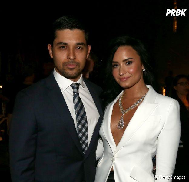 Wilmer Vanderrama visita Demi Lovato na reabilitação, segundo o TMZ