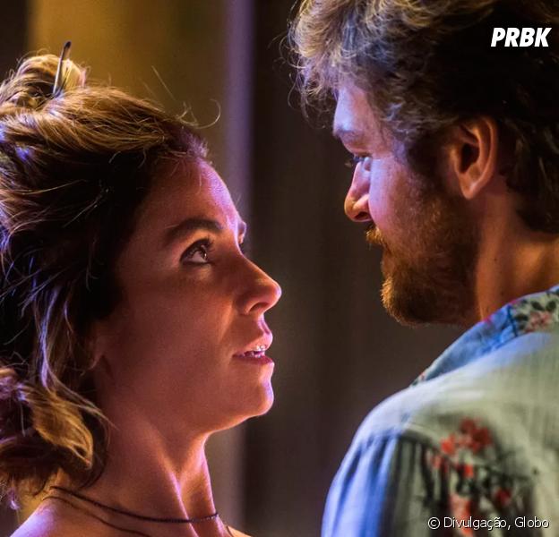 """Em """"Segundo Sol"""", Luzia (Giovanna Antonelli) e Beto (Emilio Dantas) descobrem verdade sobre Valentim (Danilo Mesquita)"""