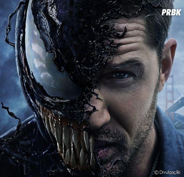 """Filme """"Venom"""" ganha novo trailer com mais cenas de luta entre o protagonista e Riot"""