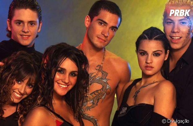 RBD usava tatuagens falsas no início da carreira