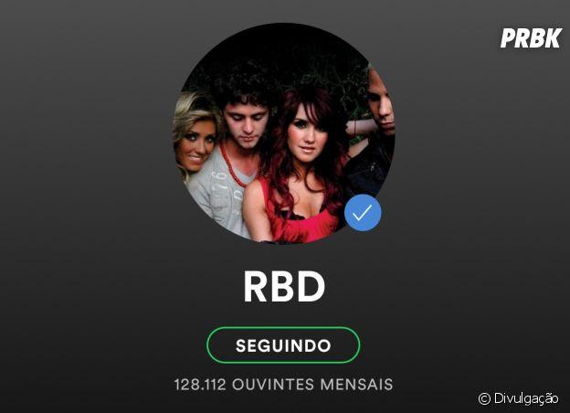 RBD tem todas as contas em redes sociais e streaming verificadas