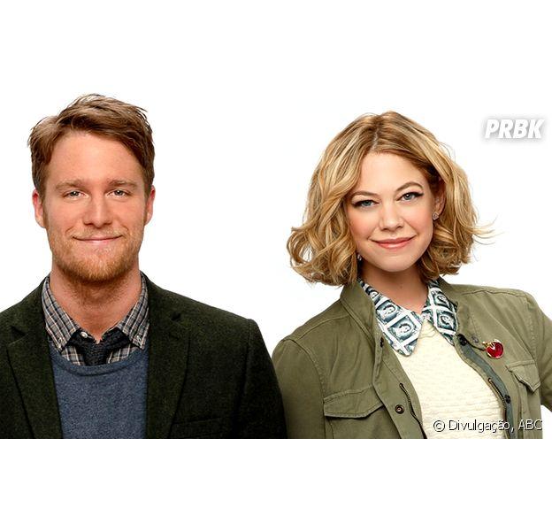 """Analeigh Tipton e Jake McDorman são um novo e divertido casal na estreante série """"Manhattan Love Story"""""""