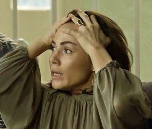 """Em """"Segundo Sol"""": Rosa (Letícia Colin) tenta fugir de cativeiro mas Remy (Vladimir Brichta) consegue pegá-la"""