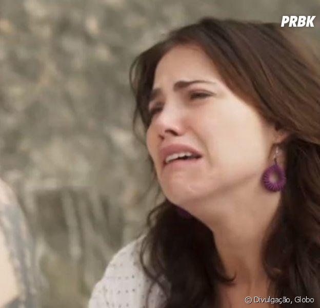 """Em """"Segundo Sol"""", Rosa (Leticia Colin) é mantida presa no porão da casa da mãe de Laureta (Adriana Esteves)"""
