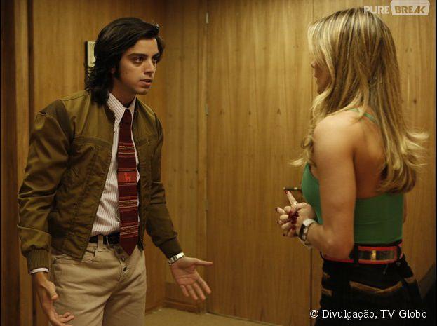 """Em """"Boogie Oogie"""", Beto (Rodrigo Simas) vai descobrir que Sandra (Isis Valverde) é sua irmã biológica"""