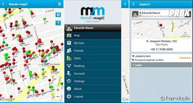 """Quando estiver em 3G em São Paulo, o """"Mandic Magic"""" te ajuda a char wi-fi de acesso gratuito"""