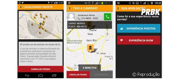 """O """"Easy Taxi"""" pode ser uma mão na roda em São Paulo"""