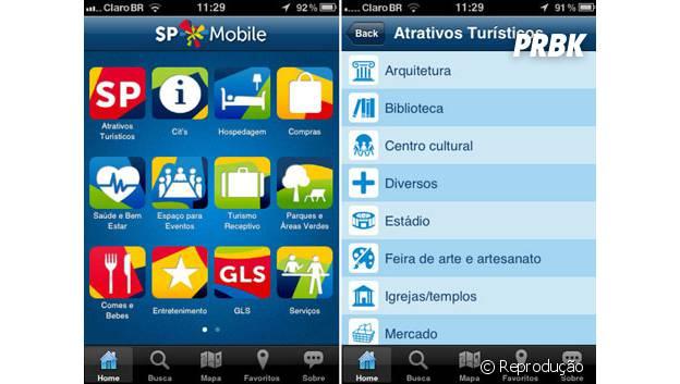 """""""SP Mobile"""" mostra principais pontos turísticos da cidade"""