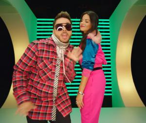 "Maite Perroni e o colombiano Reykon lançam clipe da parceria ""Bum Bum Dale Dale"""