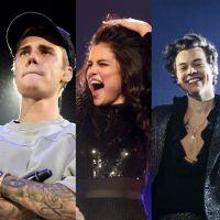 Justin Bieber, Selena Gomez, Harry Styles e mais cantores que já passaram da hora lançar algo novo