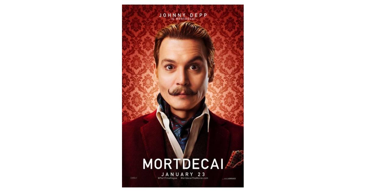Johnny Depp vive o malandro Mortdecai... Johnny Depp Broke