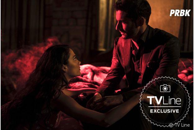 """Nova imagem da 4ª temporada de """"Lucifer"""" mostram mais de Eva (Inbar Lavi)"""