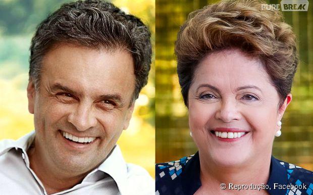 Aécio Neves e Dilma Roussef disputam o voto dos eleitores brasileiros no 2º turno das Eleições 2014