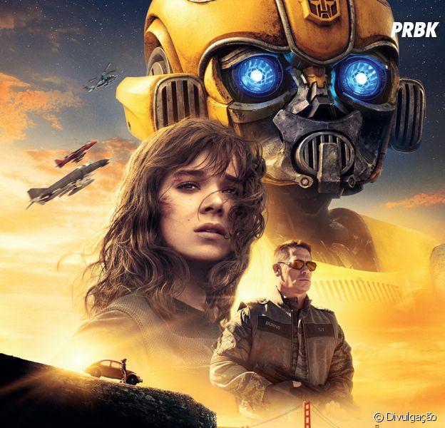 """Filme """"Bumblebee"""": Hailee Steinfeld é a típica adolescente nada popular que acaba encontrando o robô"""
