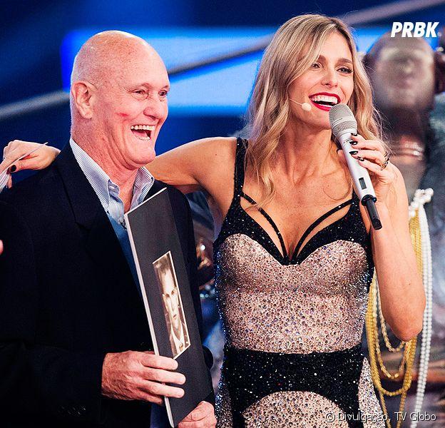 """Fernanda Lima vai receber o pai Cleomar Lima na volta do """"Amor & Sexo"""" da Globo"""