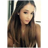 Ariana Grande aparece com novo visual, sem o famoso rabo de cavalo, em Londres!