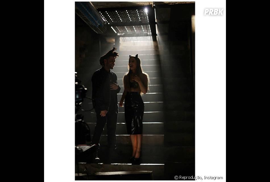 """Ariana Grande vai lançar um novo clipe, da música """"Love Me Harder"""", com The Weeknd"""