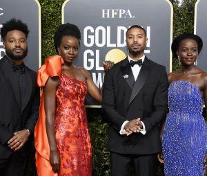 """O elenco e diretor de """"Pantera Negra"""" também estiveram no Globo de Ouro 2019"""