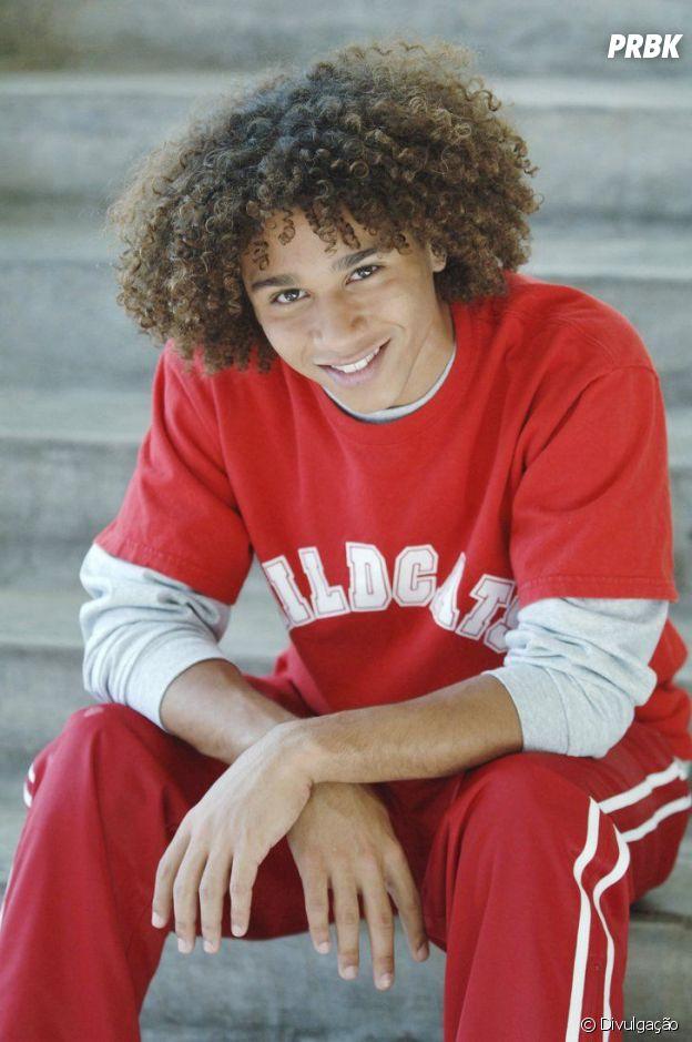 """Em """"High School Musical"""": Corbin Bleu era Chad"""