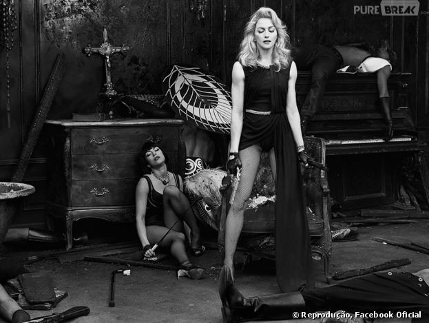 No filme, Madonna promove a liberdade de expressão e combate tanto a intolerância como a opressão.