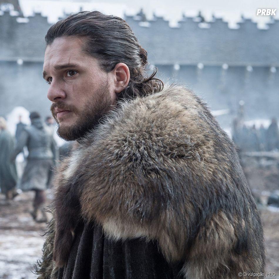 """De """"Game of Thrones"""", na 8ª temporada: será que Jon Snow (Kit Harington) está preparado para a verdadeira guerra?"""
