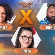 """O Paredão do Bem pode dar a imunidade para Gabriela, Rodrigo ou Tereza no """"BBB19""""! Vote"""