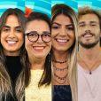 """No """"BBB19"""", Hariany, Carol Peixinho, Alan e Tereza estavam no Paredão: quem saiu?"""