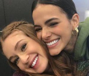 Bruna Marquezine e Marina Ruy Barbosa não são amigas, esclarece atriz