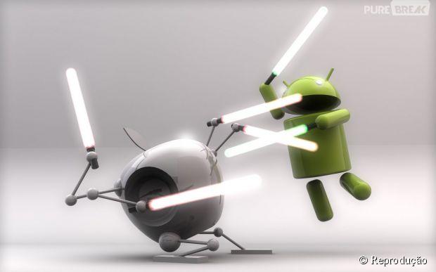 Google se vinga da Apple e ensina usuários do iPhone a mudarem para Android
