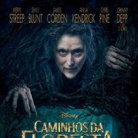 """Saem novas imagens de """"Caminhos da Floresta"""", com Johnny Depp como Lobo Mau"""