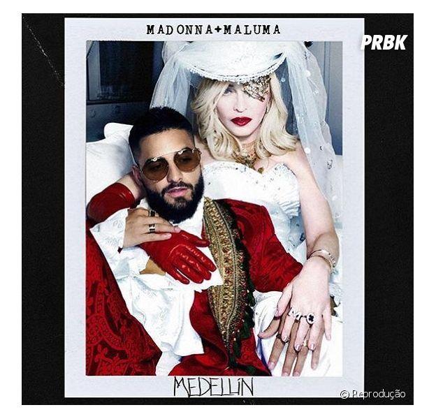 """""""Medellín"""": parceria entre Maluma e Madonna é lançada nesta quarta-feira (17)"""