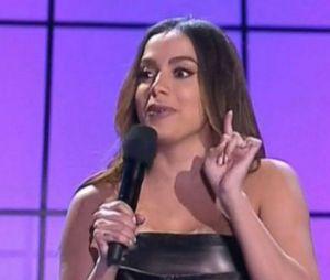 Em 2018, Anitta apresentou o Prêmio Multishow com Tatá Werneck