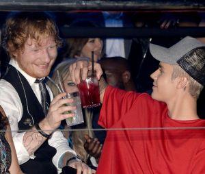Uma parceria do Justin Bieber com o Ed Sheeran pode estar chegando aí e não sabemos se estamos preparados