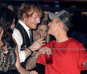 Justin Bieber e Ed Sheeran estão juntos em projeto misterioso